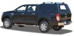 HardTop ALPHA CME en fibra, con portones laterales elevables en fibra (doble cabin para Ford Ranger  - HardTop ALPHA CME en fibra, con portones laterales elevables en fibra (doble cabina)