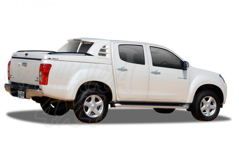 Fullbox ALPHA SC-R en fibra (doble cabina) para Isuzu D-Max 2012-