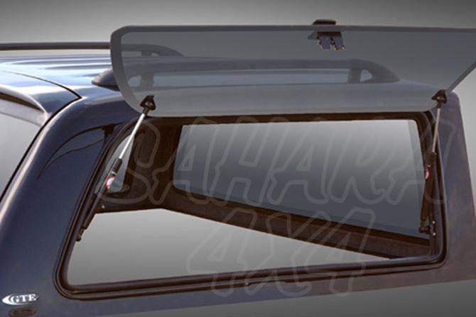 Juego de cristales laterales elevables para HardTop Alpha 9 para cabina para Isuzu/Toyota/Nissan -