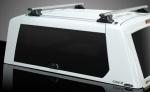 HardTop ALPHA CME en fibra, con portones laterales elevables en cristal (doble cabina) -