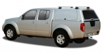 HardTop ALPHA CME en fibra, con portones laterales elevables para Mitsubishi L-200 Triton 10-15 - Para Doble cabina