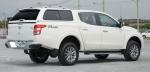 HardTop ALPHA GSS en fibra, con ventanas para Mitsubishi L-200 Triton 2015-/Fiat Fullback 2016- - Para Doble cabina