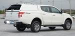 HardTop ALPHA GSS en fibra, sin ventanas para Mitsubishi L-200 Triton 2015-/Fiat Fullback 2016- - Para Doble cabina