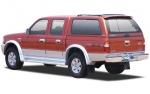 HardTop ALPHA en fibra, con ventanas (doble cabina) para Ford Ranger/Mazda B-2500 99-06 -