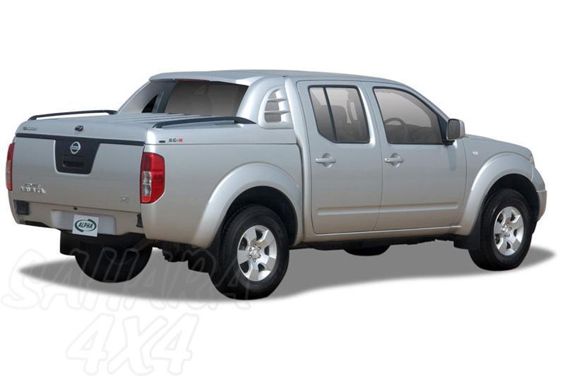 Fullbox ALPHA SC-R en fibra para Nissan Navara D40 2005-2015 - Para Doble cabina