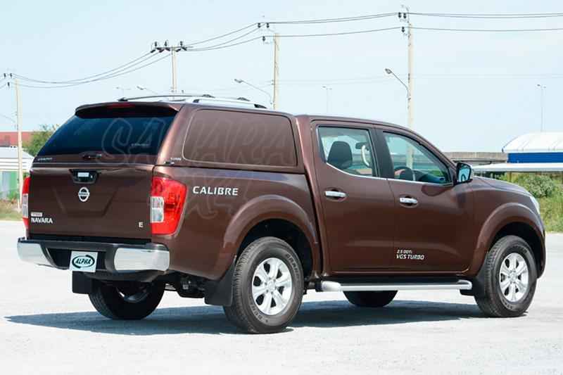 HardTop ALPHA GSS en fibra, sin ventanas (doble cabina) para Nissan Navara NP300 D23 2016- -