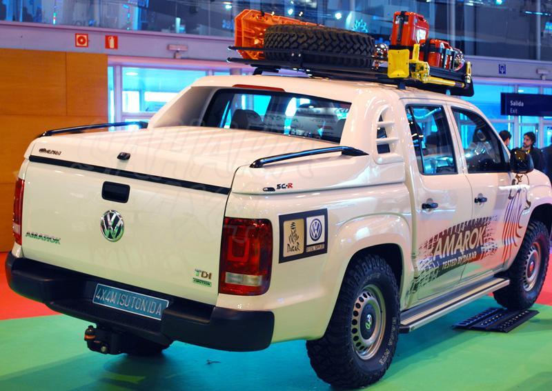 Fullbox ALPHA SC-R en fibra  para Volkswagen Amarok 2010- - Para Doble cabina