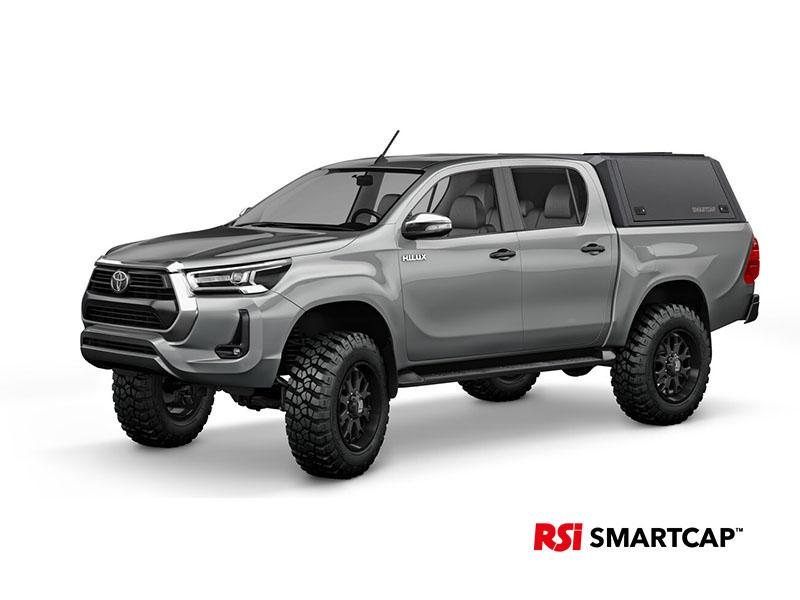 Smartcap EVOa Adventure - Toyota Hilux Revo D/C - Matte Black