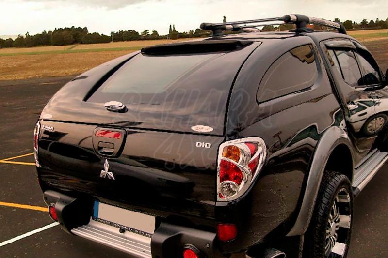 Hardtop Sport en fibra (doble cabina) para Isuzu D-Max/Rodeo 2002-2012 - (imagen no contra actual)