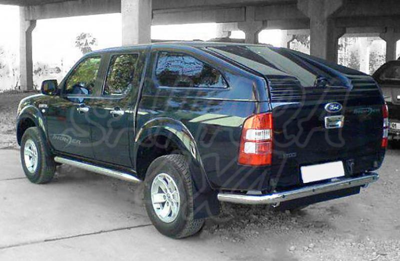 Hardtop Sport en fibra (doble cabina) para Fortd Ranger y Mazda BT-50 2006-2009 -