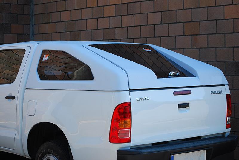 Hardtop Sport en fibra para Toyota Hilux Vigo 2005-2016 - Para Doble cabina