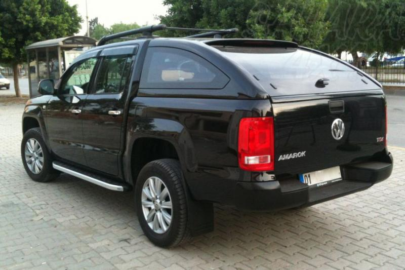 Hardtop Sport en fibra para Volkswagen Amarok 2010- - Para Doble cabina