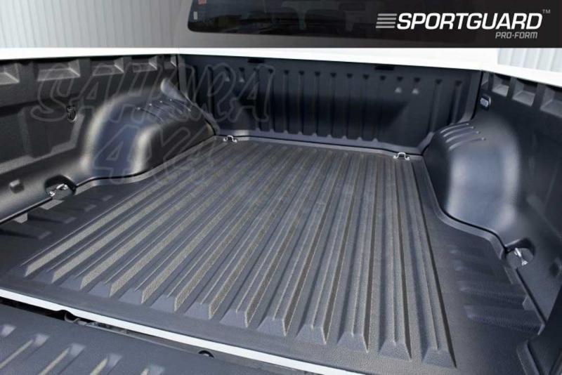 SPORTGUARD - Forro de caja antideslizante 5 piezas (doble cabina) para Ford Ranger 12 -