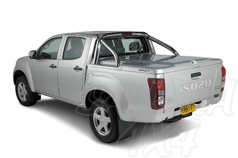 Cubierta plana PROFORM en ABS con rollbar inox (doble cabina) para Isuzu D-Max 2012-