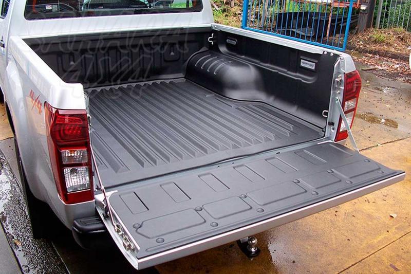 SPORTGUARD - Forro de caja antideslizante 5 piezas (doble cabina) para Isuzu D-Max 2012- -