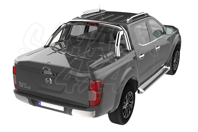 TANGO - Cubierta plana SPORTLID para Nissan Navara D23 - Para Doble cabina