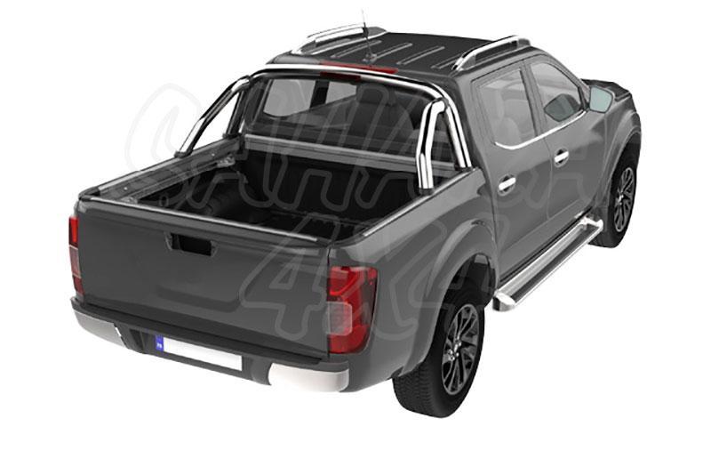 TANGO - Rollbar inox compatible SPORTBAR para Nissan Navara D23 -