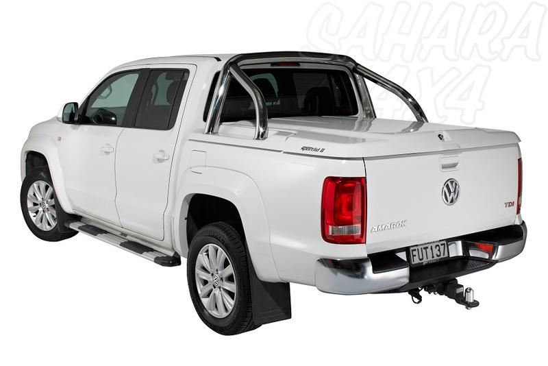 Cubierta plana PROFORM en ABS, COMPATIBLE CON ROLLBAR ORIGINAL VW  para Volkswagen Amarok 2010- - Para Doble cabina