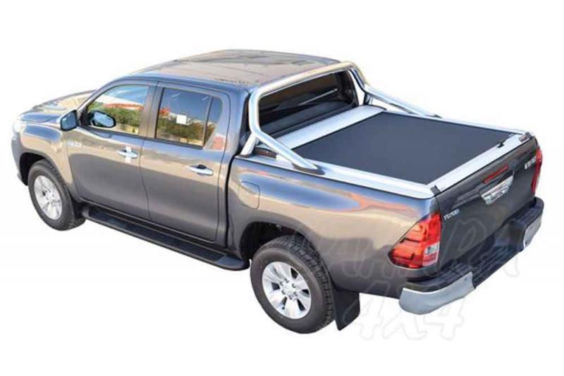 Persiana de aluminio enrollable valido para Toyota Hilux Revo 2016-
