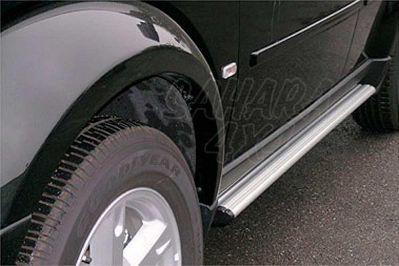 Estribos ovales en aluminio. Tipo S110 para Dodge Nitro 2007- -