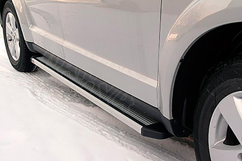 Estribos en plataforma de aluminio. Tipo STD (extra cabina) para Ford Ranger/Mazda B-2500 99-06 - Ford Ranger/Mazda B-2500 99-06