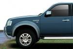 Juego de aletines en ABS (doble cabina) para Ford Ranger sólo 2007-2009 -