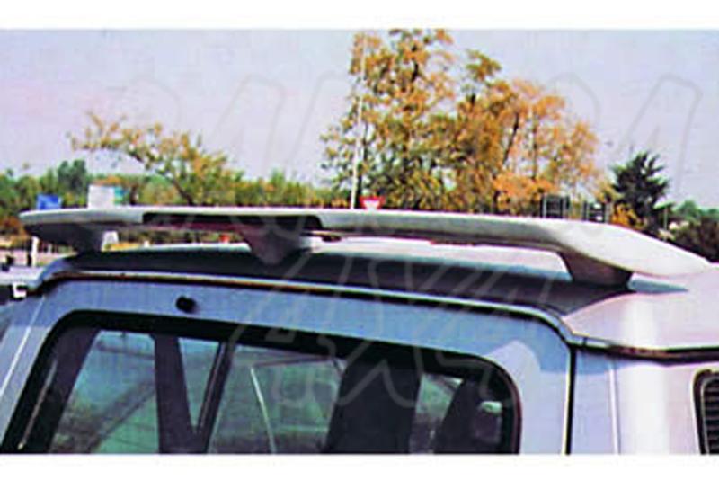 Alerón/Spoiler de techo con tercera luz de freno integrada para Galloper Exceed 1991-2003  - sin pintar