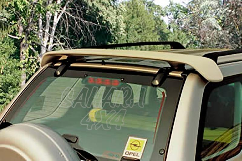 Alerón de techo sin pintar para Opel Frontera B 1998-2004 - Para 3 puertas.