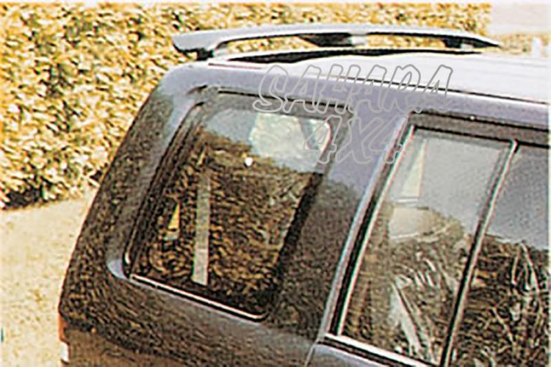Alerón de techo con tercera luz de freno (sin pintar) para Opel Monterey 1992-1998 -