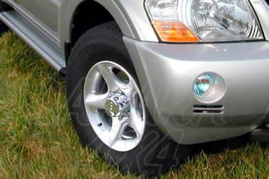 Juego de faros antiniebla para Mitsubishi Montero V60 2000-2006 -
