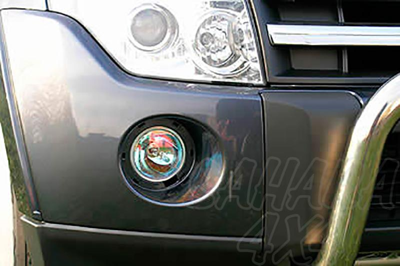 Juego de faros antiniebla para Mitsubishi Montero V80 2007-2014 -