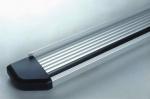 Estribos en plataforma de aluminio. Tipo STD para Galloper Super Exceed/Mitsubishi Montero  -