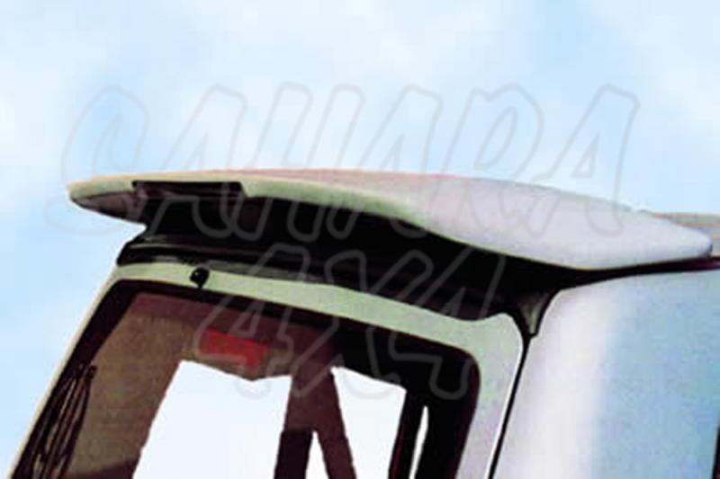 Alerón/Spoiler de techo tipo original para Galloper Super Exceed/Mitsubishi Montero  - Alerón/Spoiler de techo tipo original con tercera luz de freno (sin pintar)