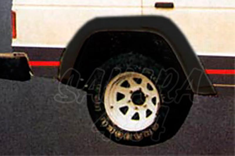 Juego de aletines en ABS (6 piezas) Mitsubishi Montero (5 puertas) 1982-1991 - Montero 3 puertas 1982-1991