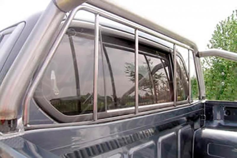 Protector de cristal de cabina para Mitsubishi L-200 Triton 2006-2009 - Para Doble cabina