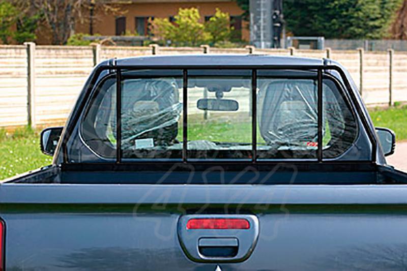 Protector de cristal de cabina para Mitsubishi L-200 Triton 2010-2015 - Para Extra cabina