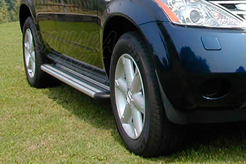 Estribos en plataforma de aluminio. Tipo S50 para Nissan Murano 2005-2008 -