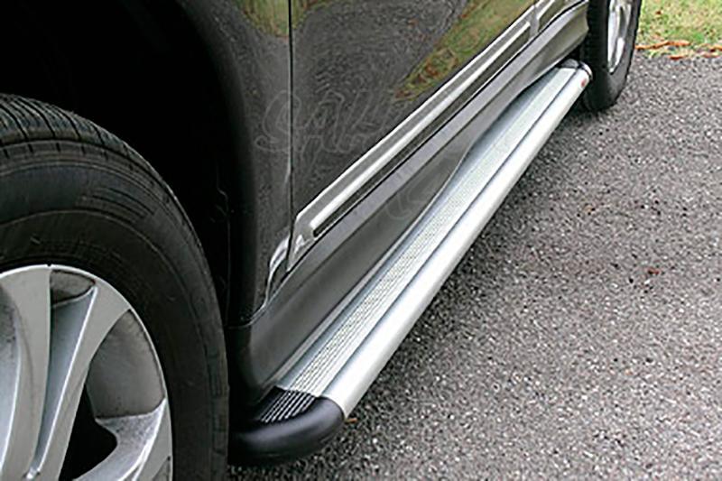 Estribos en plataforma de aluminio. Tipo S50 para Mitsubishi ASX 2010- -