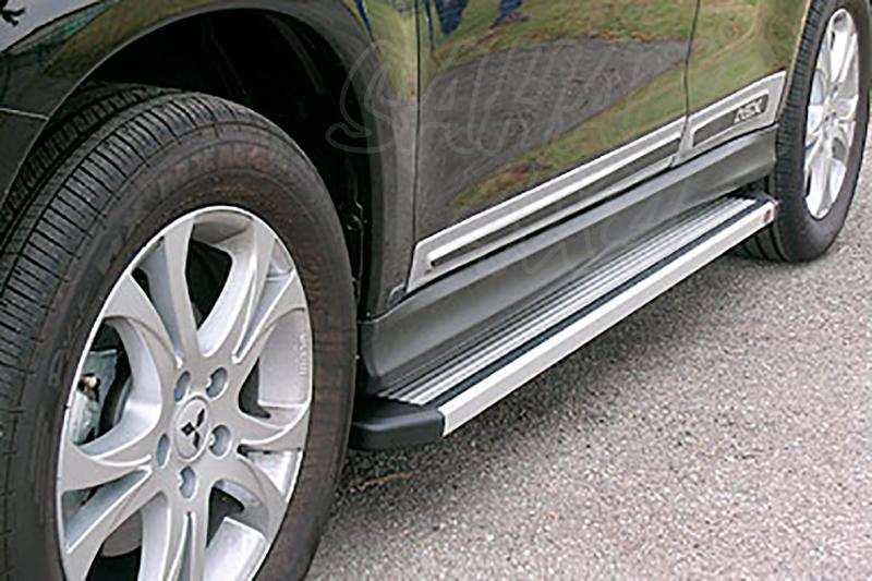 Estribos en plataforma de aluminio. Tipo STD para Mitsubishi ASX 2010- -