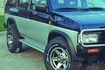 Juego de aletines en ABS (4 Piezas) para Nissan Terrano I 1986-1995 - Valido para Terrano I 1982-1995