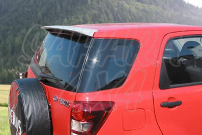 Alerón sin pintar para Daihatsu Terios 2006- -