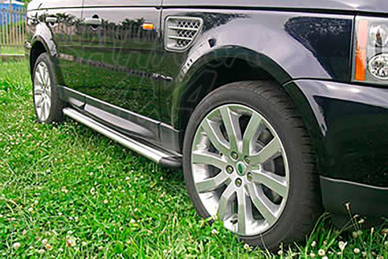 Estribos en plataforma de aluminio. Tipo S50 para Range Rover Sport 2005-2014 -