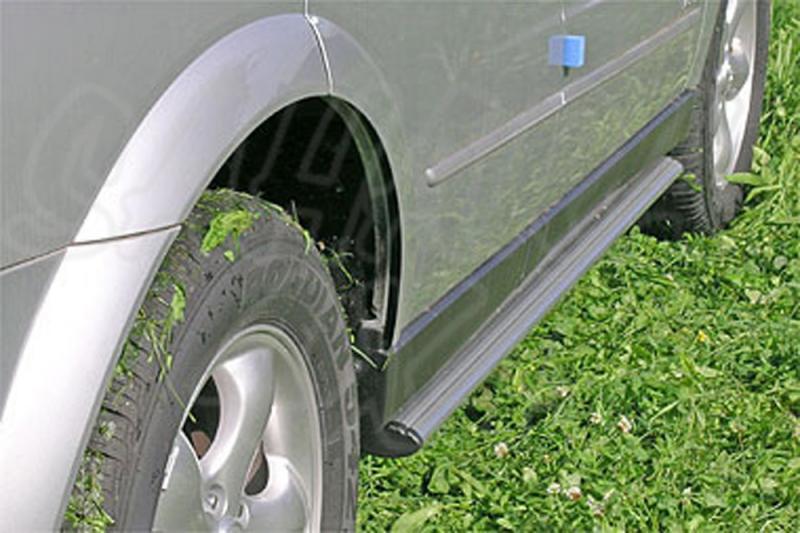 Estribos ovales en aluminio. Tipo S110 para SSangyong Kyron 2005- -