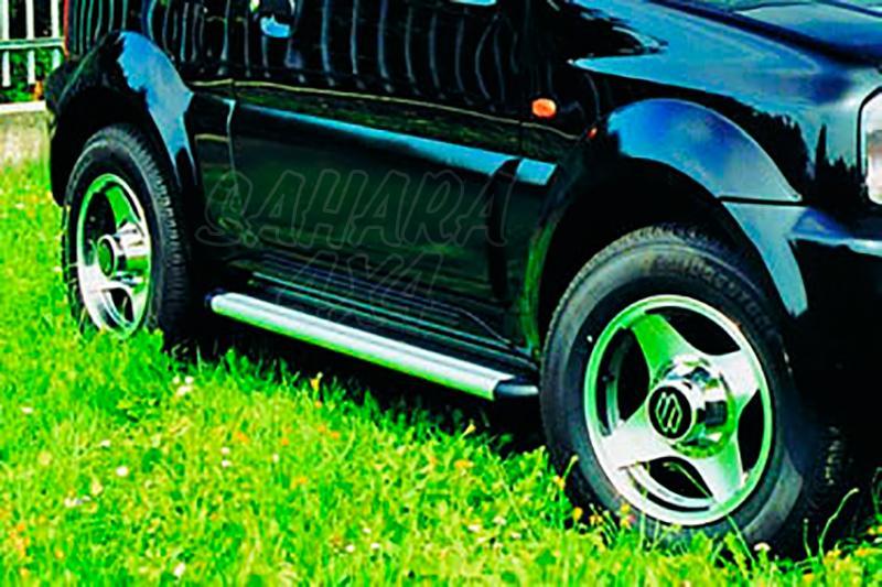 Estribos en plataforma de aluminio. Tipo S50 para Suzuki Jimny 2003- -
