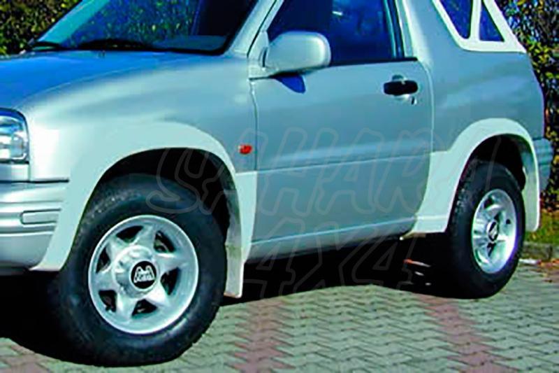 Juego de aletines en ABS (4 Piezas) para Suzuki Grand Vitara [1998 - 2005] (3 puertas Cabrio)  - Valido para Grand Vitara [1998 - 2005]