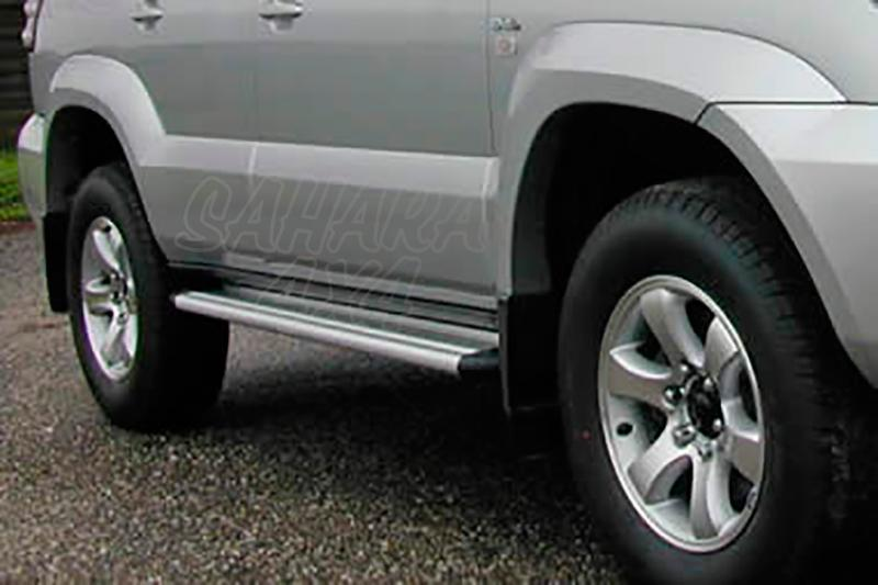 Estribos en plataforma de aluminio. Tipo S50 para Toyota LandCruiser KDJ125 -