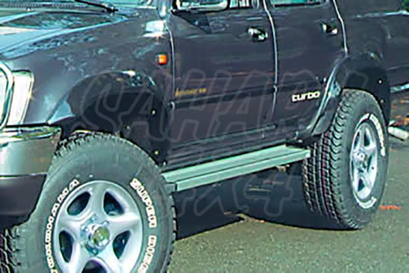 Estribos en plataforma de aluminio. Tipo STD para Toyota 4Runner 1987-1995 -