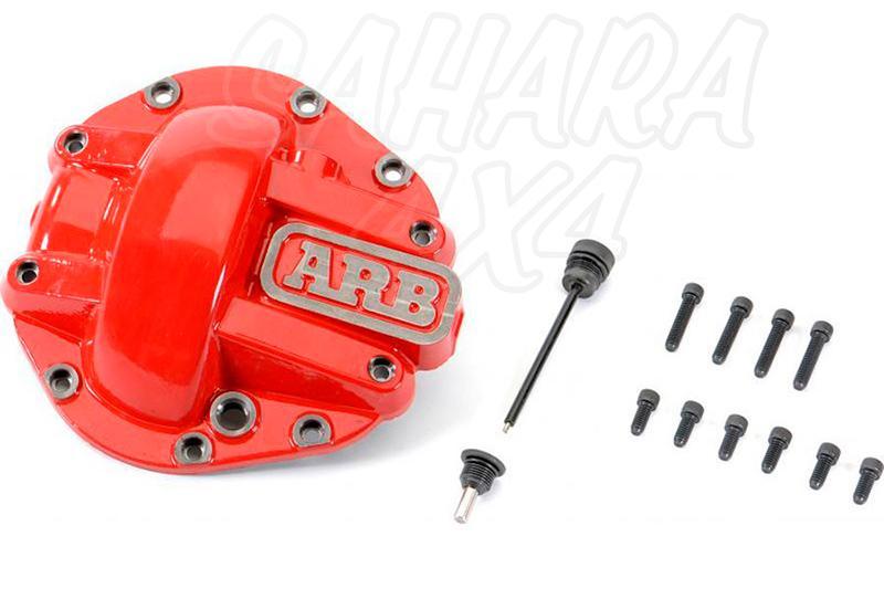 Tapa Roja ARB para Diferencial Dana 44 075003 - Unidad , no valido para carcasa de aluminio