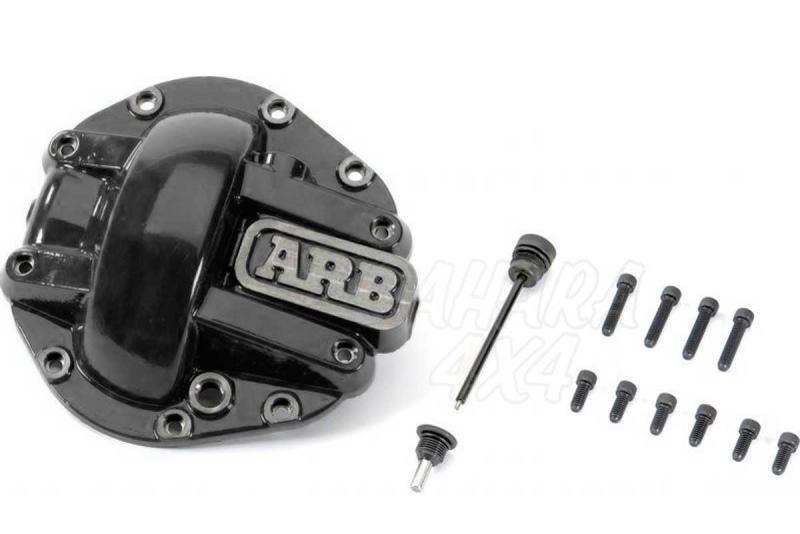 Tapa Negra ARB para Diferencial Dana 44 075003 - Unidad,  no valido para carcasa de aluminio