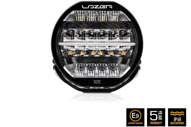 Faro Lazer LED Sentinel Elite Negro